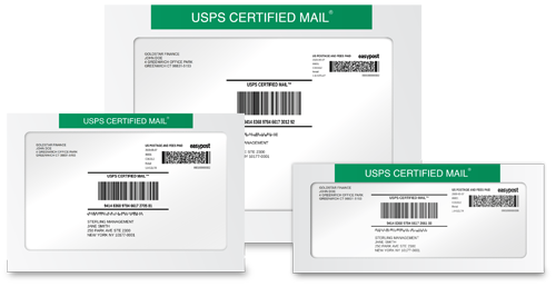SimpleCertifiedMail.com Free Envelopes