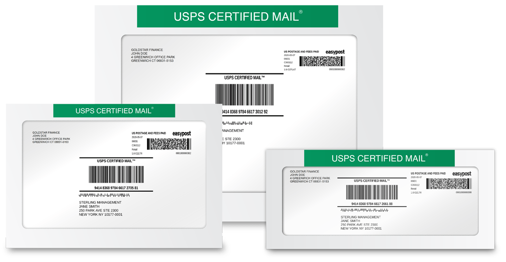 Free Certified Mail Window Envelopes from SimpleCertifiedMail.com